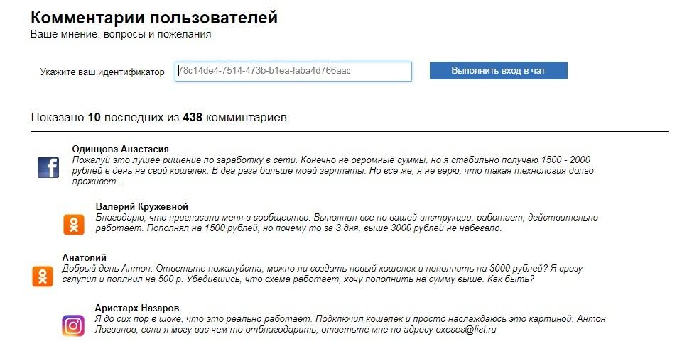 закрытое сообщество Антона Логвинова Blockchain кошелек отзывы