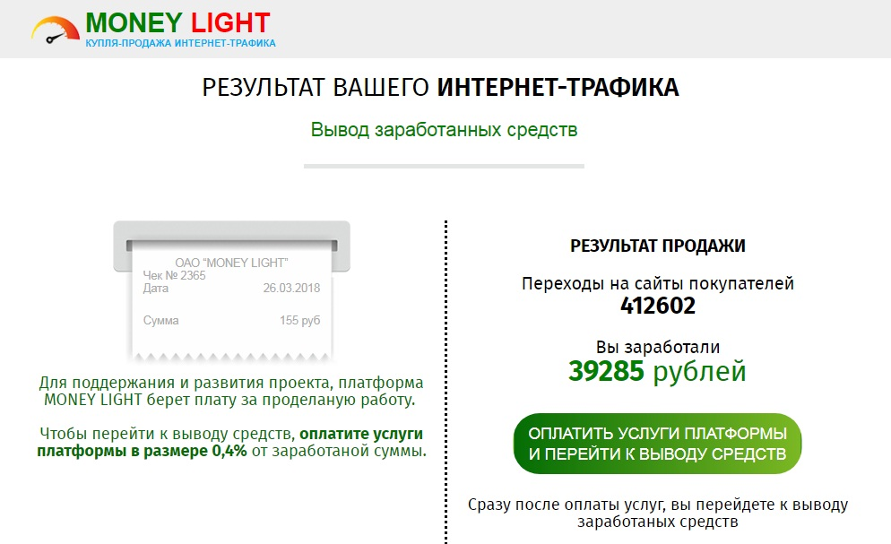 Money Light отзывы