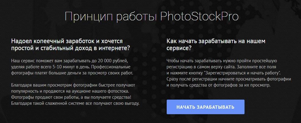 PhotoStockPro отзывы